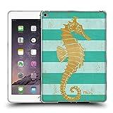 Offizielle Paul Brent Gold Seahorse Küsten Soft Gel Hülle für iPad Air 2 (2014)