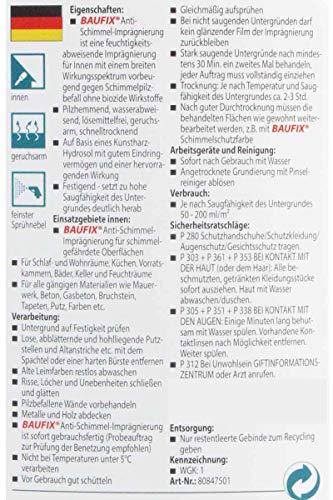Baufix® Anti Schimmel Imprägnierung 1Liter (2)