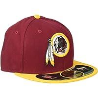 New Era NFL On Field Washington Skins 59Fifty Fitted Adult Baseball Cap
