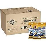 Pedigree Dentastix - Friandises pour Petit Chien, 112 Bâtonnets à Mâcher pour L'hygiène Bucco-Dentaire (16 Sachets de 7 Sticks)