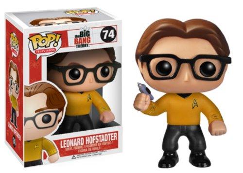 Theory Bang Kostüm Big Leonard - The Big Bang Theory Pop! Vinyl Figure - Star Trek Leonard Hofstadter