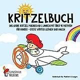 Kritzelbuch: Das große Kritzel Malbuch ab 2 Jahren mit über 40 Motiven für Kinder - Erste Wörter lernen und malen - Kinderbuch für Mädchen & Jungen (German Edition)