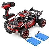 Profun 2,4 GHz RC Auto 4W RC Doppelseitiges Stunt Amphibische Funktion (Fernbedienung Batterie und WiederaufladbareBatterien im Lieferumfang Enthalten) (rot3)