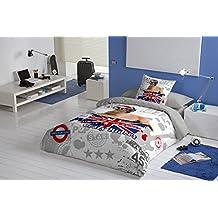 NATURALS Juego Funda Nórdica RIDERS cama (Cama 90)