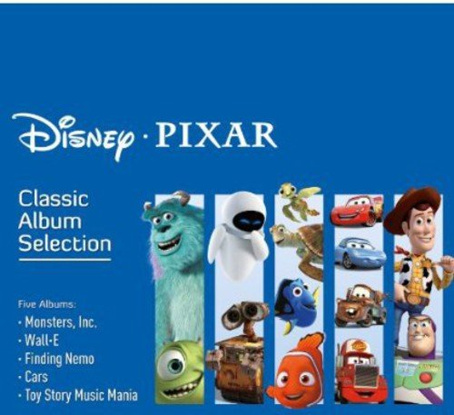Disney Pixar Classic Album Selection (5 CDs) - Cd Classics Disney