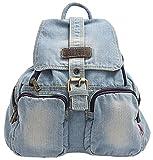 Ichic Boutique(TM) Sac à Dos Loisir Cartable en Jeans pour Filles Femmes Scolaire...