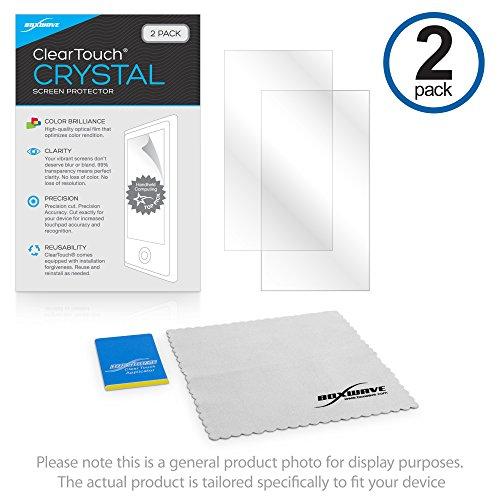 Boxwave Cleartouch Screen Protector (Nintendo Nintendo 2DS XL Displayschutzfolie, BoxWave [ClearTouch Crystal] HD Film Haut-Shields vor Kratzern für Nintendo Nintendo 2DS XL)