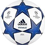 adidas Finale 10Ball Fußball weiß/blau ELECTRIQUE