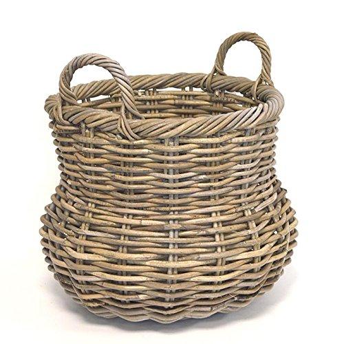 fireside-alibaba-round-wicker-log-basket-grey-medium