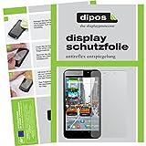 dipos Odys Orbit LTE Schutzfolie (2 Stück) - Antireflex Premium Folie matt