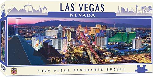 Master Pieces Puzzle 1000 Teile - Las Vegas -