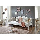 Relita Einzelbett Elsa, weiß lackiert, LF 90x200