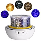 SOLMORE LED Sternenhimmel Projektor Nachtlicht Lampe Projektor Kinder USB