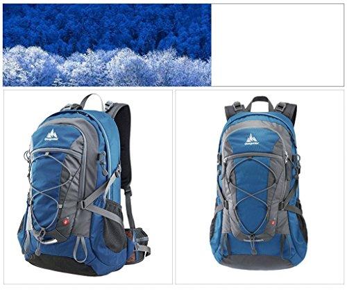 onepolar spalle Polar 40L di alpinismo uomini e donne all'aperto multifunzionale ultraleggera zaino da viaggio impermeabile coreano borsa cielo blu