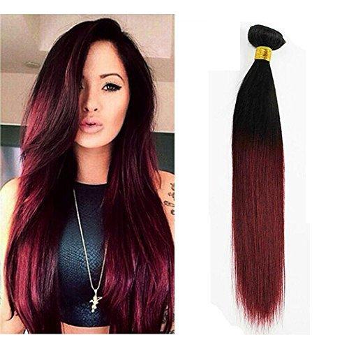 Extension cheveux naturel rouge