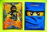 Lego Ninjago Trading Card Game Serie 3 Spinjitzu LE 4 Meister Cole Goldkarte + 1 Schutzhülle