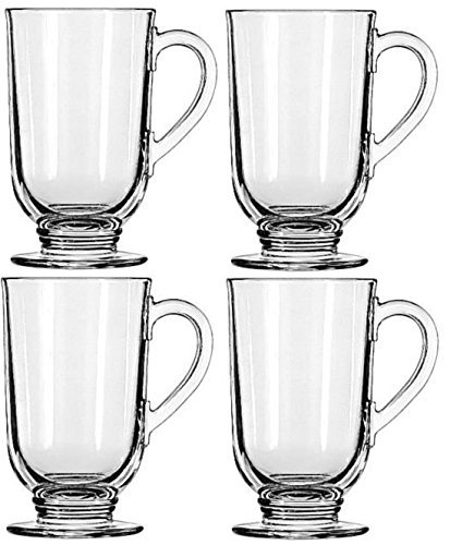 Libbey 10.5-ounce Irish Coffee Mug, 4-piece Set by Libbey (Coffee Libbey Mug Irish)