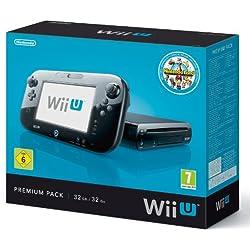 Console Nintendo Wii U 32 Go noire - 'Nintendo Land' premium pack