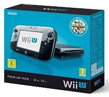 Nintendo Wii U Console Premium Black 32GB, 2300132 (32GB)