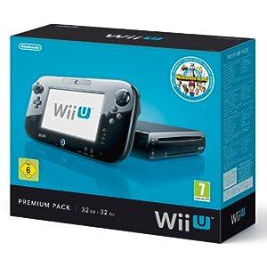 Nintendo Wii U – Konsole, Premium Pack, 32 GB, schwarz mit Nintendo Land