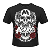 Asking Alexandria - Officially Licenced Black Shadow - Mens Size M T-shirt