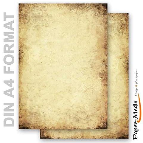 Papier A Lettre Correspondance - Papier à motif à lettres VIEUX PAPIER