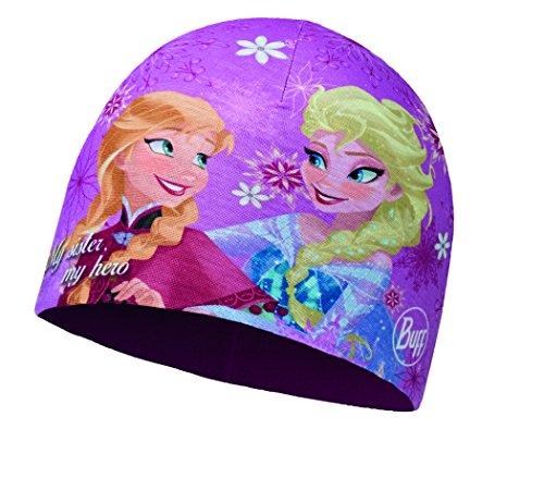 Buff Kinder Frozen Child Microfiber Polar Hat Mütze, Sisters Pink, One Size
