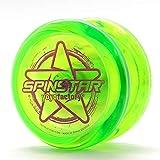 YoyoFactory SPINSTAR Yo-Yo - Verde (Genial para Principiantes, Juego Yoyo Moderno, Freestyle Yoyoing Tricks, Cuerda e Instrucciones Incluidas)