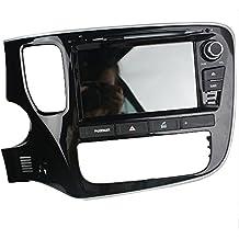 Android 8.0Octa Core Auto Radio Radio DVD GPS navegación Reproductor multimedia estéreo de coche para Mitsubishi Outlander 2015compatible con 3G WiFi Bluetooth de control de volante libre 8G tarjeta SD (pulgadas)