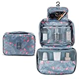 Hanging Travel Toiletry Bag, Astory Waterproof Cosmetic Bag Makeup TravelOrganizer Folding Portable Wash