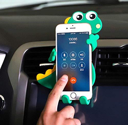 FENGZHILI Multifunktionsautotelefonhalterkarikaturautoausgangautonavigationsauto-Innenausstattung