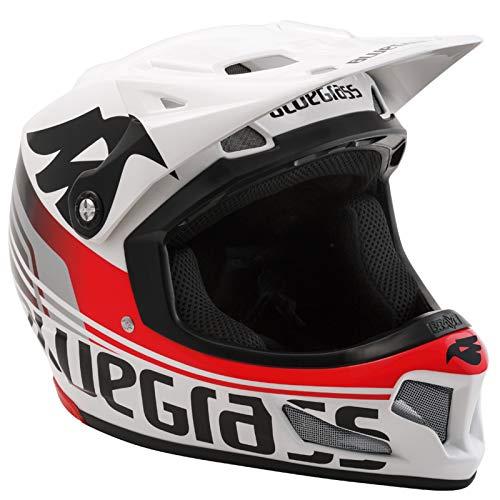 BLUEGRASS Helm Brave Weiß/Rot 2018 Größe L -