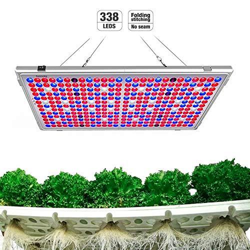 Relassy Lampe de Plante, 300W Lampe LED Horticole Floraison Lampe de Croissance, Lampe de Culture...