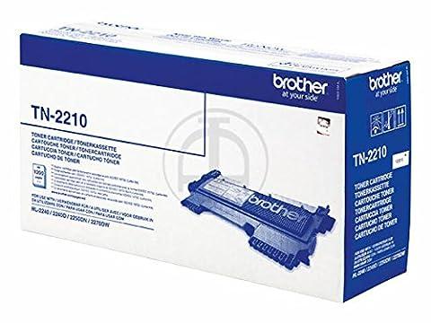 BROTHER TN2210 original Toner schwarz fuer HL-2240 2240D 2250DN 2270DW MFC-7360N,-7460DN,-7860DW, DCP-7060D 1200 Seiten