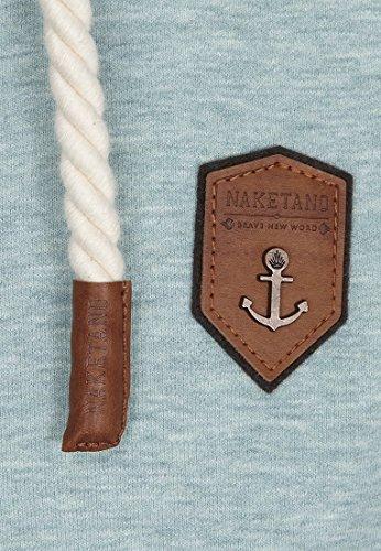 Naketano Male Zipped Jacket Birol IX Wiederkäuer Grün Melange