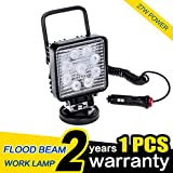 WOWLED 27W Portable LED Work Light Flood Lamp with Magnetic Base For Car, Jeep, Off-road, Truck, Boat, Jeep, SUV Camping Light … - WOWLED - amazon.co.uk