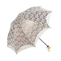 SWEETTIME(TM) Princess Lace Ultraviolet-proof Umbrella/ Sun UV protection Umbrellas (beige White)