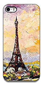 The Racoon Grip printed designer hard back mobile phone case cover for Apple Iphone 5c. (eiffel tow)