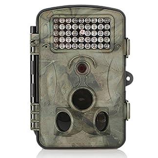 """Crenova 12MP 1080P HD Infrared Game&Trail Camera Night Vision 2.4"""" LCD Display Waterproof Hunting Scouting Camera Digital Surveillance Camera"""