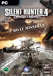 Silent Hunter 4: Wolves of the Pacific - U-Boat Missions Add-on [Download]