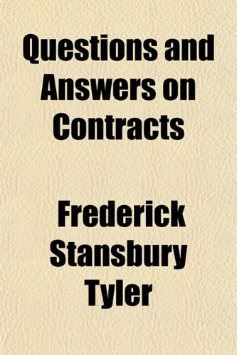 Questions and Answers on Contracts