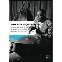 Carnet de Musique Notebooks & Journals, Jones (Jazz Notes Collection) Extra Large: Couverture souple (17.78 x 25.4 cm)(Carnet à musique, Cahier de musique)