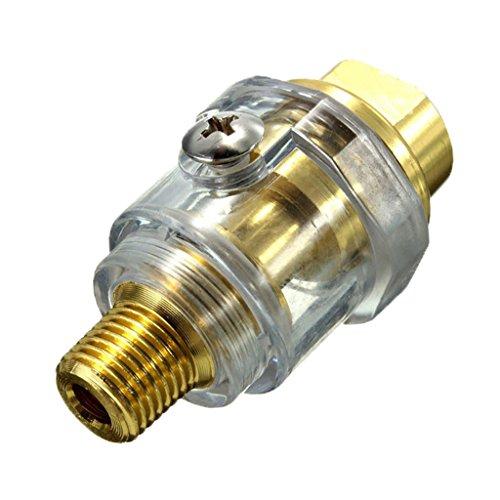 Sharplace Mini-Öler für Druckluft Werkzeug Schlagschrauber Schleifer Druckluftöler Ölnebler Miniöler Nebelöler (Schmiervorrichtung)