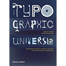 The Typographic Universe: Letterforms Found in Nature, the Built World and Human Imagination