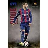 Grupo Erik Editores GPE4841 - Póster FC Barcelona Pique 2014/2015, Acción, 61 x 91,5 cm