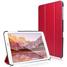 Galaxy Tab S2 8.0 Funda, JETech® Slim Fit Galaxy Tab S2 8.0 Smart Funda Carcasa con Stand Función y Imán Incorporado para el Sueño/Estela para Samsung Galaxy Tab S2 8.0 pulgadas (Rojo)