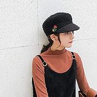 Sombrero cálido Gorro otoño e Invierno Gorro de Punto cálido de Mujer de  Moda Salvaje Gorro 69ec2b5ad86