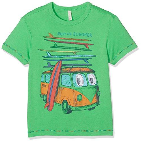 united-colors-of-benetton-t-shirt-camiseta-para-ninas-verde-green-3-4-anos-talla-del-fabricante-xx