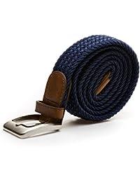 Stretchgürtel Blau 110cm 125cm elastisch dehnbar
