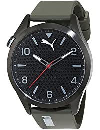 Puma Time Herren-Armbanduhr Atomic Analog Quarz Plastik PU103941001
